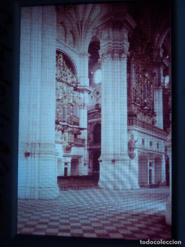 DIAPOSITIVA - FILMINA - 35 MM - MONTADA MARCO PROFESIONAL - GRANADA - CATEDRAL, NAVE Y ORGANO (Fotografía Antigua - Diapositivas)