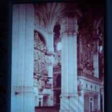 Fotografía antigua: DIAPOSITIVA - FILMINA - 35 MM - MONTADA MARCO PROFESIONAL - GRANADA - CATEDRAL, NAVE Y ORGANO. Lote 84465692