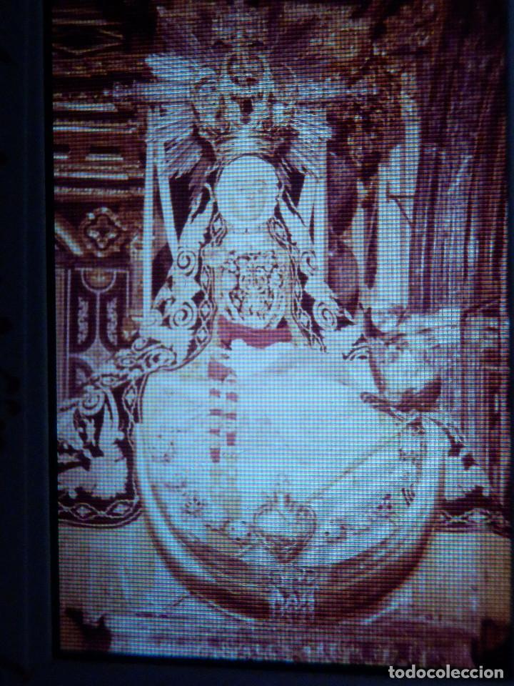 DIAPOSITIVA - FILMINA - 35 MM - MONTADA MARCO PROFESIONAL - GRANADA - CATEDRAL, VIRGEN ANGÚSTIAS (Fotografía Antigua - Diapositivas)