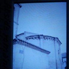 Fotografía antigua: DIAPOSITIVA - FILMINA - 35 MM - MONTADA MARCO PROFESIONAL - TALAMANCA DEL JARAMA - ABSIDE ROMÁNICO. Lote 84466056