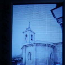 Fotografía antigua: DIAPOSITIVA - FILMINA - 35 MM - MONTADA MARCO PROFESIONAL - TALAMANCA DEL JARAMA - ABSIDE IGLESIA. Lote 84466120