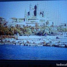 Fotografía antigua: DIAPOSITIVA - FILMINA - 35 MM - MONTADA MARCO PROFESIONAL - PALMA DE MALLORCA - VISTA PARCIAL BAHIA . Lote 84466868