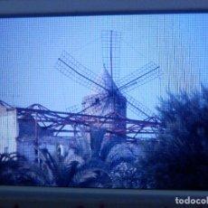 Fotografía antigua: DIAPOSITIVA - FILMINA - 35 MM - MONTADA MARCO PROFESIONAL - PALMA DE MALLORCA - MOLINO JONQUET. Lote 84467008