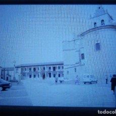 Fotografía antigua: DIAPOSITIVA - FILMINA - 35 MM - MONTADA MARCO PROFESIONAL - TORRELAGUNA - MADRID - VISTA PLAZA MAYOR. Lote 84467272