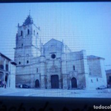 Fotografía antigua: DIAPOSITIVA - FILMINA - 35 MM - EN MARCO PROFESIONAL - TORRELAGUNA - MADRID - FACHADA IGLESIA PARROQ. Lote 84467496