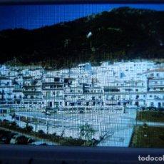 Fotografía antigua: DIAPOSITIVA - FILMINA - 35 MM - MONTADA EN MARCO PROFESIONAL - MIJAS - MÁLAGA - VISTA PARCIAL . Lote 84467708