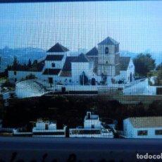 Fotografía antigua: DIAPOSITIVA - FILMINA - 35 MM - MONTADA EN MARCO PROFESIONAL - MIJAS - MÁLAGA - IGLESIA PARROQUIAL. Lote 84467856