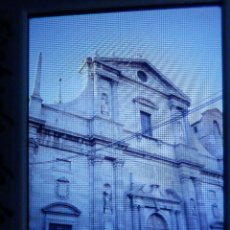 Fotografía antigua: DIAPOSITIVA - FILMINA - 35 MM - MONTADA EN MARCO PROFESIONAL - ALCALA DE HENARES - FACHADA IGLESIA J. Lote 84468208
