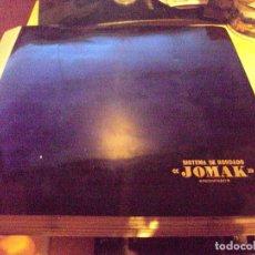archivador con lote de 319 diapositivas para realizar bordados marca jomak años 70