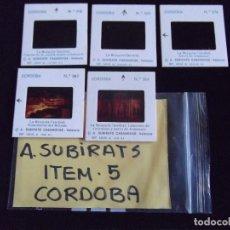 Fotografía antigua: DIAPOSITIVAS-DIAPOSITIVAS 2-CORDOBA-A.SUBIRATS. Lote 86812204