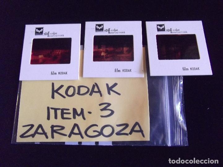 DIAPOSITIVAS-DIAPOSITIVAS 2-ZARAGOZA-KODAK (Fotografía Antigua - Diapositivas)