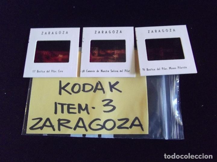 Fotografía antigua: DIAPOSITIVAS-DIAPOSITIVAS 2-ZARAGOZA-KODAK - Foto 2 - 87559752