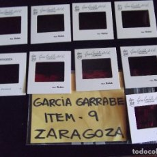 Fotografía antigua: DIAPOSITIVAS-DIAPOSITIVAS 2-ZARAGOZA-GARCIA GARRABELLA. Lote 87559868