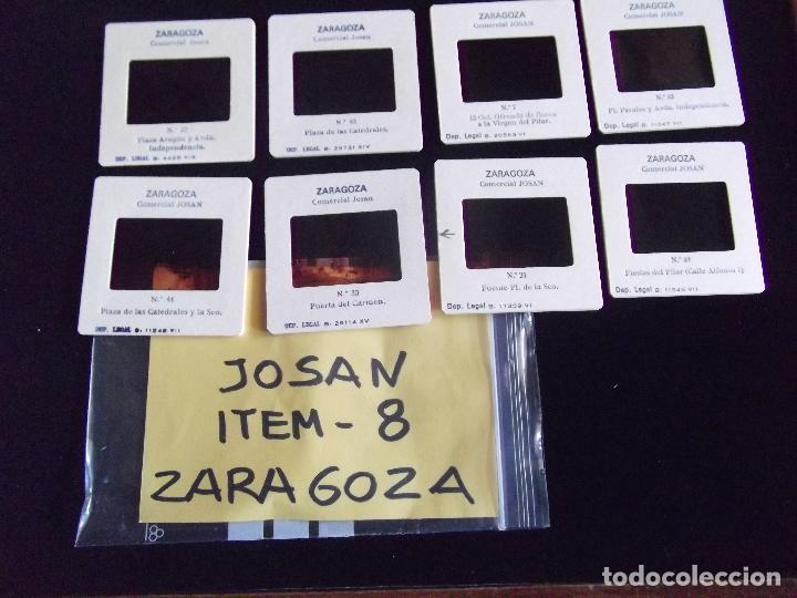 DIAPOSITIVAS-DIAPOSITIVAS 2-ZARAGOZA-JOSAN (Fotografía Antigua - Diapositivas)