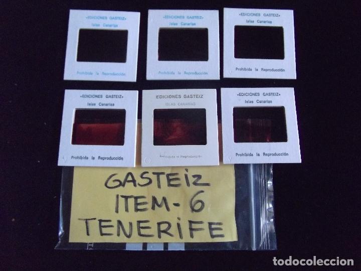 DIAPOSITIVAS-DIAPOSITIVAS 2-TENERIFE-GASTEIZ (Fotografía Antigua - Diapositivas)