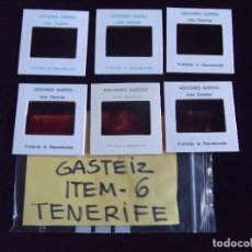 Fotografía antigua: DIAPOSITIVAS-DIAPOSITIVAS 2-TENERIFE-GASTEIZ. Lote 87560632