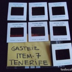 Fotografía antigua: DIAPOSITIVAS-DIAPOSITIVAS 2-TENERIFE-GASTEIZ. Lote 87560800