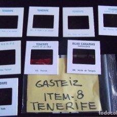 Fotografía antigua: DIAPOSITIVAS-DIAPOSITIVAS 2-TENERIFE-GASTEIZ. Lote 87560920