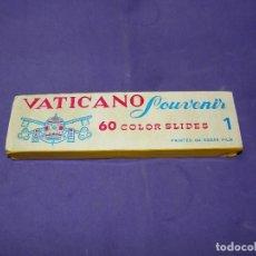 Fotografía antigua: 60 DIAPOSITIVAS COLOR DEL VATICANO KODAK FILM. Lote 88783660