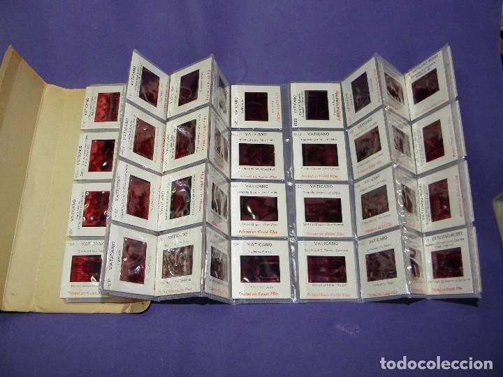 Fotografía antigua: 60 DIAPOSITIVAS COLOR DEL VATICANO KODAK FILM - Foto 2 - 88783660