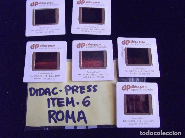 DIAPOSITIVAS-DIAPOSITIVAS 2-ROMA-DIDAC-PRESS (Fotografía Antigua - Diapositivas)