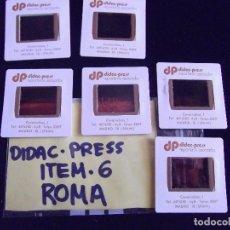 Fotografía antigua: DIAPOSITIVAS-DIAPOSITIVAS 2-ROMA-DIDAC-PRESS. Lote 89854696