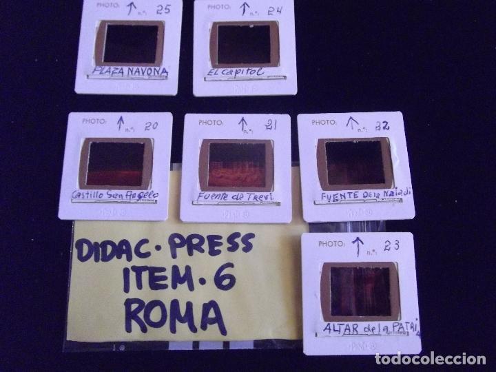 Fotografía antigua: DIAPOSITIVAS-DIAPOSITIVAS 2-ROMA-DIDAC-PRESS - Foto 2 - 89854696