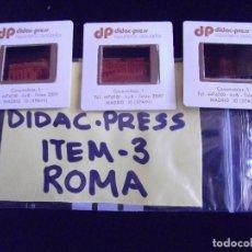 Fotografía antigua: DIAPOSITIVAS-DIAPOSITIVAS 2-ROMA-DIDAC-PRESS. Lote 89855544