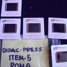 Fotografía antigua: DIAPOSITIVAS-DIAPOSITIVAS 2-ROMA-DIDAC-PRESS. Lote 89857216