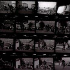 Fotografía antigua: LOTE 24 NEGATIVOS VUELTA CICLISTA ESPAÑA 1983. Lote 90848345
