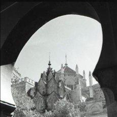 Fotografía antigua: NEGATIVO ESPAÑA CÁCERES GUADALUPE MONASTERIO 1970 KODAK 35MM NEGATIVE SPAIN PHOTO FOTO. Lote 92018530