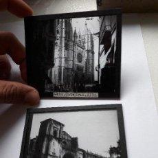 Fotografía antigua: ANTIGUAS DIAPOSITIVAS DE LEON. AÑOS 20. Lote 93622385