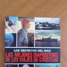 Fotografía antigua: LOTE 2 ALBUNES DIAPOSITIVAS FELIX RODRIGUEZ Y JAQUES COSTEAU. Lote 93934275