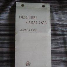 Fotografía antigua: DESCUBRE ZARAGOZA PASO A PASO 50 DIAPOSITIVAS DELEGACIÓN ENSEÑANZA Y GUARDERÍAS ZARAGOZA 1984. Lote 95174367