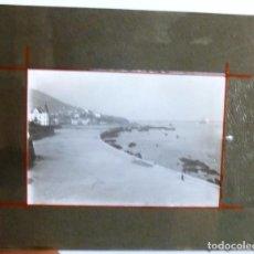 Fotografía antigua: FOTOGRAFÍA EN CRISTAL VISTA DE PORTUGALETE AÑO 1914 TAMAÑO 8 X 10 CMS. Lote 96656323