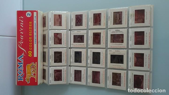 Fotografía antigua: Roma, 60 diapositivas en pelicula Kodak - Foto 2 - 100146715