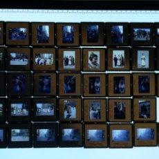 Fotografía antigua: VALENCIA 1984. FALLAS, DESFILE FALLERAS, 39 DIAPOSITIVAS. Lote 102030806