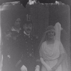 Fotografía antigua: AÑO 1919 - FOTOS Y RETRATOS DE ÉPOCA. RETIRO, MADRID - LOTE DE 18 NEGATIVO DE FOTOGRAFÍA . Lote 102109807