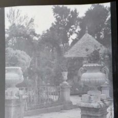 Fotografía antigua: AÑO 1926 - JARDINES PALACIO DE ARANJUEZ, MADRID - NEGATIVO DE FOTOGRAFÍA - 15 X 9 CMS. Lote 102114767