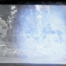 Fotografía antigua: AÑO 1926 - JARDINES PALACIO DE ARANJUEZ, MADRID - NEGATIVO DE FOTOGRAFÍA - 15 X 9 CMS. Lote 102114795