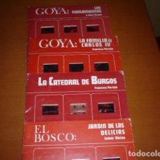 Fotografía antigua: DIAPOSITIVAS COLECCIÓN MUNDO IMAGEN EDI. LA MURALLA -GOYA EL BOSCO - CATEDRAL BURGOS. Lote 104723811