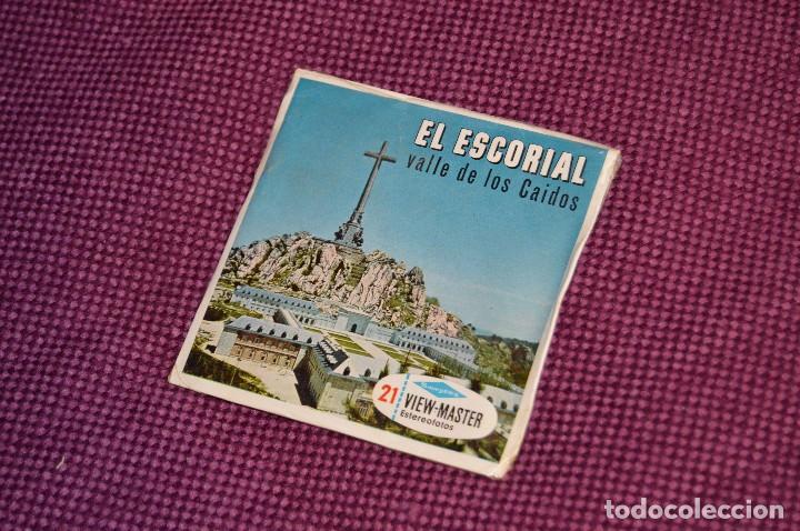 VINTAGE - SET DIAPOSITIVAS VIEW MASTER - C254 - 3 DISCOS - EL ESCORIAL - MUY BUEN ESTADO - HAZ OFERT (Fotografía Antigua - Diapositivas)