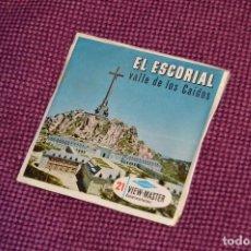 Fotografía antigua: VINTAGE - SET DIAPOSITIVAS VIEW MASTER - C254 - 3 DISCOS - EL ESCORIAL - MUY BUEN ESTADO - HAZ OFERT. Lote 105824435