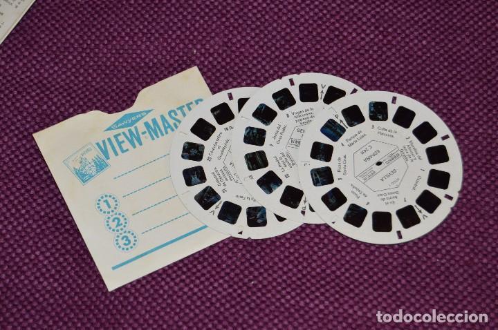 Fotografía antigua: VINTAGE - SET DIAPOSITIVAS VIEW MASTER - C243S - 3 DISCOS - SEVILLA - MUY BUEN ESTADO - HAZ OFERTA - Foto 3 - 105824523