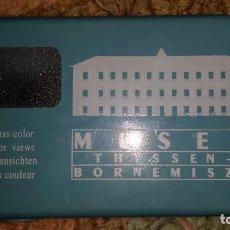 Fotografía antigua: MUSEO THYSSEN BORNEMISZA, 15 VISTAS COLOR, MSM 2003. Lote 106757043
