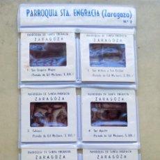 Fotografía antigua: LOTE DE 10 DIAPOSITIVAS. PARROQUIA DE SANTA ENGRACIA. ZARAGOZA.NUMERO 2. Lote 107106907