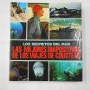 Fotografía antigua: LOS SECRETOS DEL MAR. LAS MEJORES (260) DIAPOSITIVAS DE LOS VIAJES DE JACQUES COUSTEAU. PB39. Lote 107646587