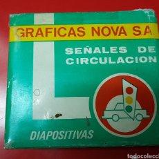 Fotografía antigua: DIAPOSITIVAS SEÑALES DE CIRCULACIÓN. Lote 108905556