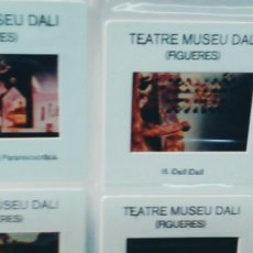 Fotografía antigua: LOTE DE 59 DIAPOSITIVAS DALI TEATRE-MUSEO DALI . FIGUERES AÑOS 80 ARTICULO NUEVO SIN USO. Lote 109040499