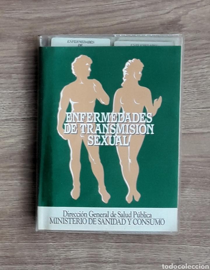 ENFERMEDADES TRANSMISIÓN SEXUAL. 24 DIAPOSITIVAS EXPLICADAS EN SU ARCHIVADOR. ANTERIOR AL SIDA. (Fotografía Antigua - Diapositivas)